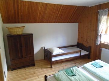 Apartmán 1 dětská postel