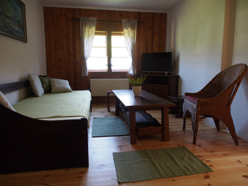 Apartmán 1 jednolůžková postel